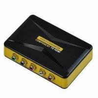 Buy cheap Component to HDMI Converter, Supports Plug-and-play Function  from wholesalers