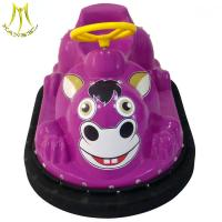 Buy cheap Hansel children indoor game machine plastic ride on toy car for mall from wholesalers