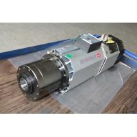 Buy cheap 9KW 24000Rpm air cooled ATC router spindle motor for engraving CNC wood machine from wholesalers