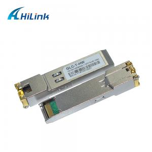 Wholesale GLC-T 10/100/1000BASE-T 3.3V RJ-45 SFP Transceiver Module from china suppliers