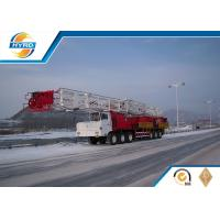 Truck Mounted Onshore Oilfield Workover Rig , Workover Well Drilling Equipment Manufactures