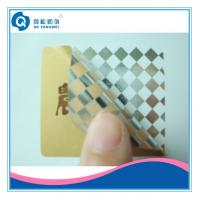 Buy cheap Tamper Resistant Labels , Rectangle Hot Stamping Security Seal Stickers from wholesalers