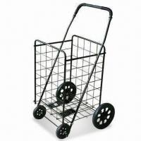 Wholesale 4 Wheels Foldable Luggage Cart with 50kg Capacity, Available in Various Colors from china suppliers