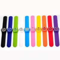 Buy cheap 2012 fashion colorful slap watches with blinking decoration ET1155BZ from wholesalers