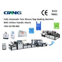 Wholesale High Speed PP Automatic Non Woven Bag Making Machine Ultrasonic Welding from china suppliers
