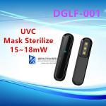 Buy cheap 15~18mW UV Sterilizer Lamp Portable Sterilizer UVC-LED DGLF-001 For Mask from wholesalers