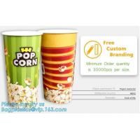 Buy cheap POPCORN PAPER BOX, POPCORN CUP, CHICKEN BOX, CUSTOM BRANDING,24OZ, 32OZ,46OZ,TAKE OUT PACKAGE, KRAFT PAPER CUP, LID, PAC from wholesalers