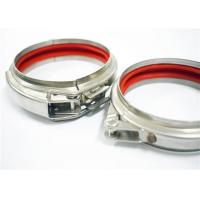 Wholesale Roll Stamping Quick Release Pipe Clamp Galvanized With 80mm ~ 600mm Diameter from china suppliers