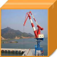 Buy cheap High automation rail type harbour portal crane from wholesalers