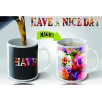 Buy cheap Funny Color Changing Coffee Mug For Promotion , personalised heat sensitive coffee mug from wholesalers