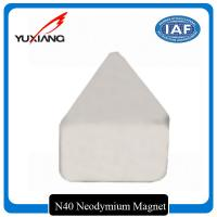 Buy cheap Industrial Triangle Neodymium Magnet Passivation Temporary Surface For Toys from wholesalers