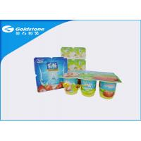 Wholesale Non Fluorescence Custom Paper Sticky Labels Coated Paper / BOPP Material from china suppliers