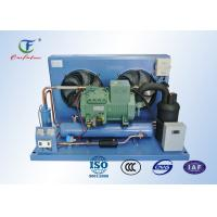 Buy cheap R404a Bitzer Refrigeration Compressor Unit , Reciprocating Walk In Cooler Condensing Unit from wholesalers