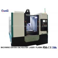 Buy cheap FANUC Spindle Motor CNC Vertical Machining Center For Zinc Processing from wholesalers