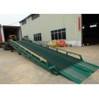 Buy cheap 10 Ton - 15 Ton Portable Steel Loading Dock Ramps With Solid Tyres from wholesalers