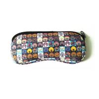 Wholesale Sunglasses Soft Case Neoprene Eyeglass Pouch.SBR Material. Size is 19cm*8.7cm. from china suppliers