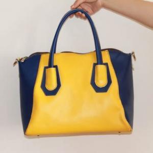 China Wholesale fashion Genuine leather designer handbags on sale