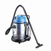 Buy cheap Dry and Wet Vacuum Cleaner with Capacity of 60L, Made of Stainless Steel from wholesalers