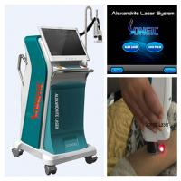 Buy cheap Freckle Removal 755 nm Alexandrite Laser Permanently Hair Removal Machine from wholesalers