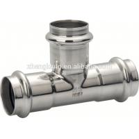 Buy cheap Forged Stainless Steel Press Fittings Round Head Press Fit Plumbing Fittings from wholesalers