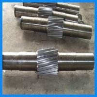 Buy cheap Precise Machining Alloy Steel Forging Gear Shaft / Central Shaft For Crane Driving Wheel from wholesalers