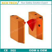 Wholesale 110V/220V Smart Card Reader Wing Barrier Turnstile with Anti-Tailling Function from china suppliers