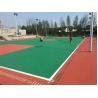 Buy cheap Cushion / Buffer Elastic Acrylic Sports Flooring , Gym Floor Paint Anti Slip from wholesalers