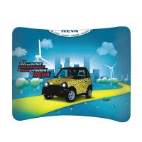 Buy cheap Recyclable Tension Fabric Wall Trade Show Backdrop Displays Exhibition Booth from wholesalers