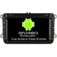 Buy cheap 1024 X 600 Pixel Volkswagen DVD GPS Navigation VW Golf Car Stereo 2003 - 2012 from wholesalers