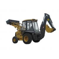 Buy cheap Chinese brand 4 wheel drive original Japanese cummins engine   2ton load backhoe loader from wholesalers