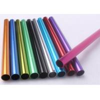 Buy cheap Different Color Extruded Aluminium TubeRound Shape Profile For Industrial from wholesalers