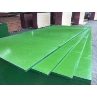 Buy cheap China ACEALL Construction Shuttering Green PP PVC Plastic Film Coated Plywood Board Lumber from wholesalers