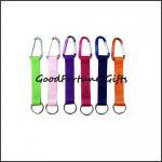 Buy cheap hot sale printed logo customed promotion mug carabiner lanyard keychain from wholesalers