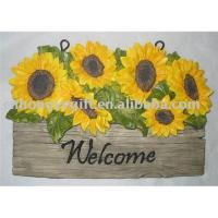 Buy cheap Polyresin Garden Decorations (Welcome Sign) from wholesalers