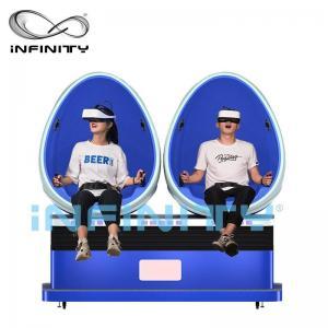 China Virtual Reality Smart HD 9D Egg VR Cinema 360 Degree Rotation For Amusement Park on sale