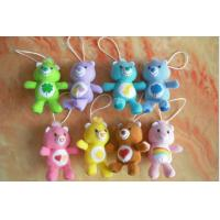Buy cheap Care Bears Plush Toy Keychain For Promotion Gifts , Red / Yellow / Purple / Brown from wholesalers