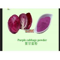 Buy cheap Red Cabbage Natural Vegetable Powder With Anti Radiation / Inflammation from wholesalers