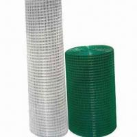 Buy cheap Square Welded Wire Mesh with Plastic Finish, Suitable for Poultry Houses from wholesalers