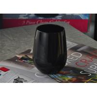 Buy cheap Blown rotable black antique candle holders glass Machine Black Green from wholesalers