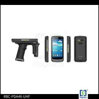 Buy cheap Handheld RFID Microchip Scanner , Electronic Chip Reader Android Mobile Terminal Device from wholesalers