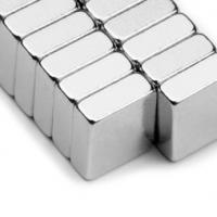 Buy cheap 30x30x3mm square magnet sintered Neodymium Magnetic block from wholesalers