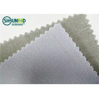 Wholesale 230gsm 3.5H Hand Feeling Fusible Interlining Cotton Fusing Garment Woven Rolls For Caps from china suppliers