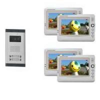 Buy cheap 7inch large screen video video door phone intercom for small apartment from wholesalers