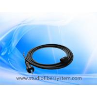 Buy cheap 400m 2-Channel LC Fiber Optic Cable Reel with dust and water protection from wholesalers