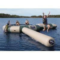 Buy cheap Strong Inflatable Water Trampoline Combo With Slide , Inflatable Water Games from wholesalers
