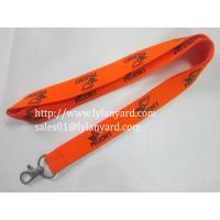 Buy cheap China Factory Printing Webbing Lanyard from wholesalers