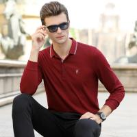 Buy cheap 2019 Men's New Latest Design High Quality Long Sleeve Polo Shirt with Embordiery from wholesalers