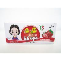 Wholesale 14.4g Strawberry flavor CC stick candy in box children's favorite healthy and yummy from china suppliers