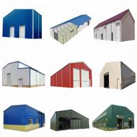 Buy cheap SGS Passed Steel Frame Prefabricated Houses Construction Structural Workshop from wholesalers