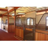Wholesale Internal Portable European Horse Stalls Horse Stable For Horse Farm from china suppliers
